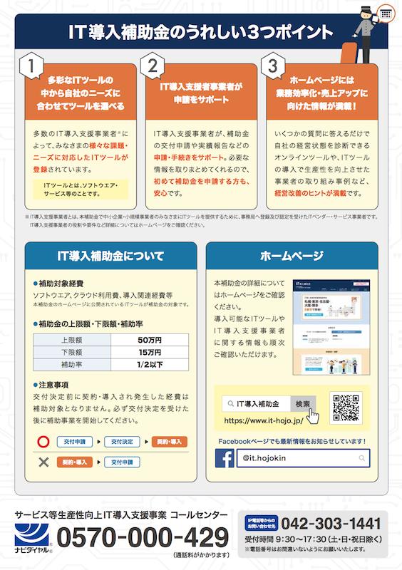 株式会社コミュニティネットはIT導入支援事業者として採択されました。(IT補助金)